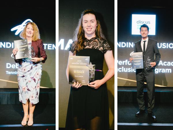 Local tennis stars shine at awards night
