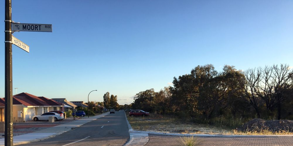 Special residential land on Harden Park Trail could be rezoned for urban development.