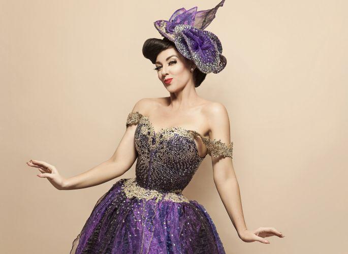 Jessica Gough as The Sugar Duchess. Pic credit: David Woolley