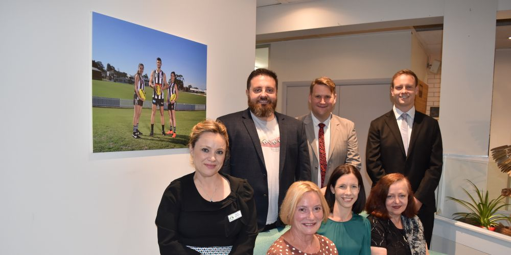 The new Bassendean Council. Picture: Kristie Lim.