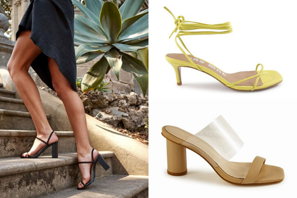 The Barely-There sandal is set to trend throughout summer.
