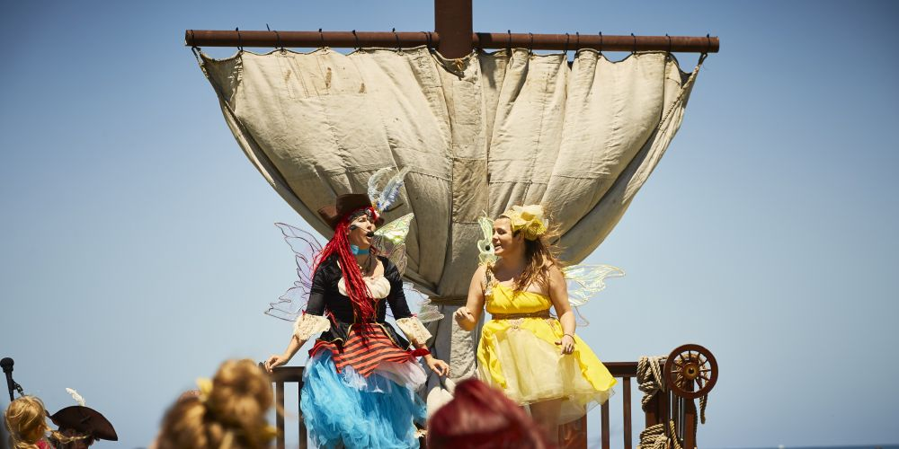 Treasures of Shorehaven will bring pirates, mermaids and fairies to Alkimos. Pictures: Peet