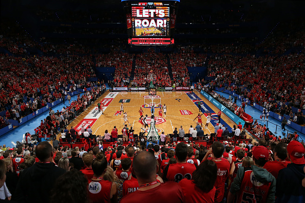 Perth Wildcats play at Perth Arena. Picture: Paul Kane/Getty Images