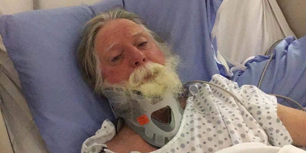 Phil Nelson is stranded in a Canadian hospital after suffering a severe brain injury.