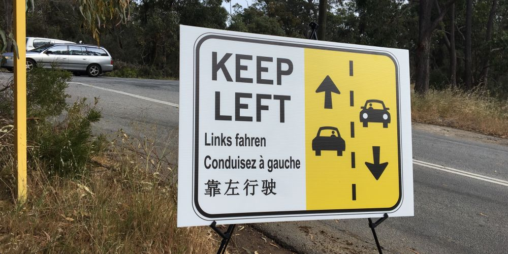 Multilingual signs rolled out on WA tourism routes