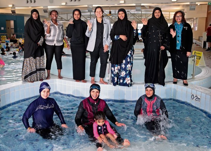 Perth pool opening late for women-only session