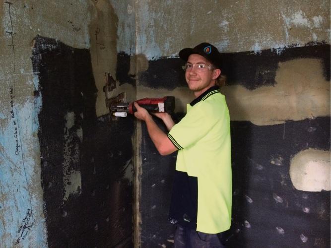 Jackson Brocx was also named most outstanding plumbing apprentice.