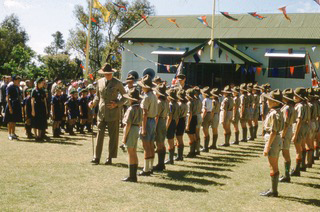 Tuart Hill Scout Group in 1957