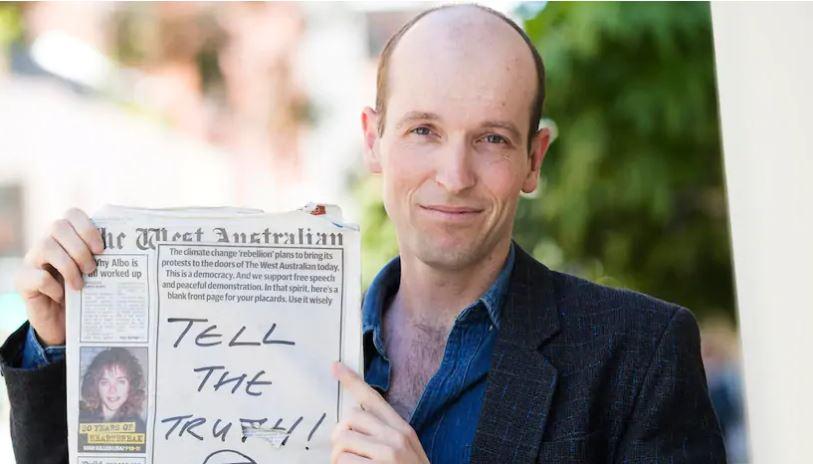 Jesse Noakes. Photo: The West Australian, Simon Santi