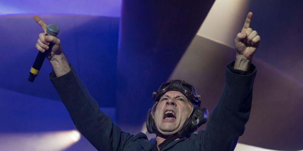 Iron Maiden singer Bruce Dickinson. Photo: Getty