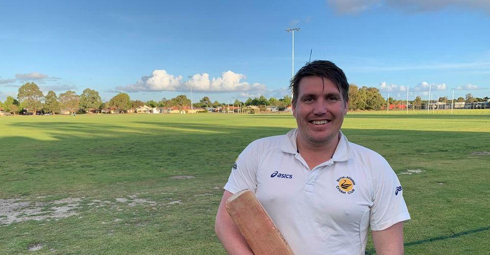 Cricketer smashes record score