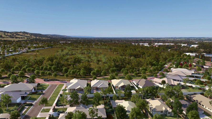 Kingsford estate offers bigger-than-average blocks