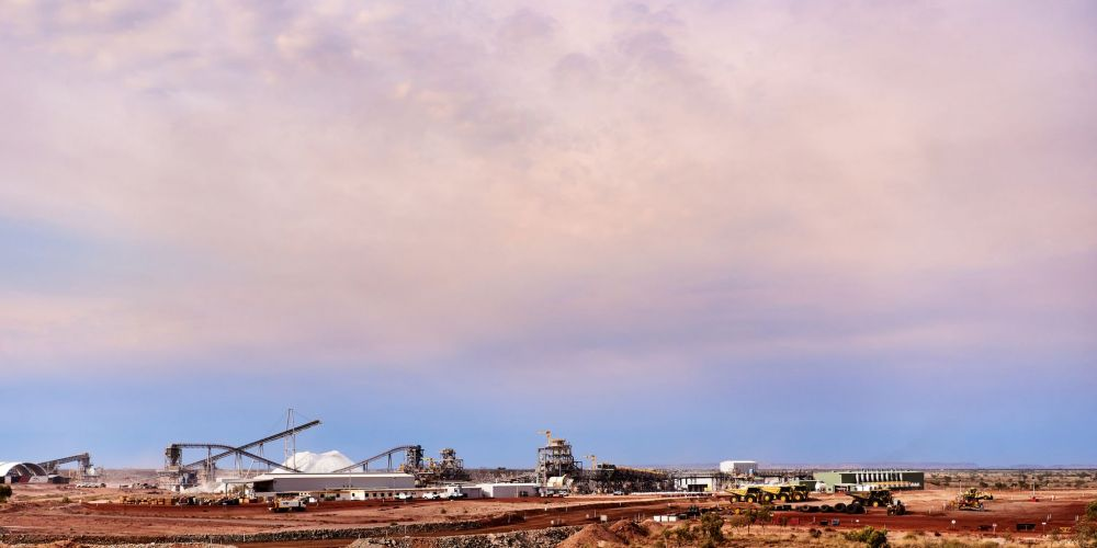 The Pilgangoora Project in the Pilbara. Picture: Twitter