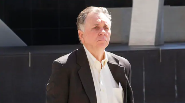 Nobel laureate Barry Marshall has pleaded not guilty to two counts of criminal damage after he allegedly twice damaged a boom gate in a Perth medical precinct. Picture: Simon Santi/The West Australian