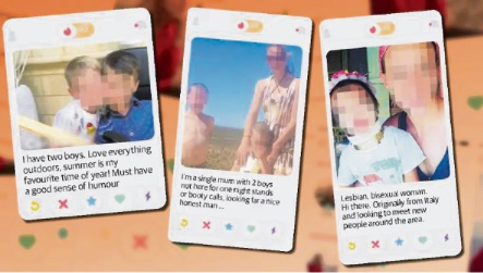 Parents warned not to share photos of kids on Tinder