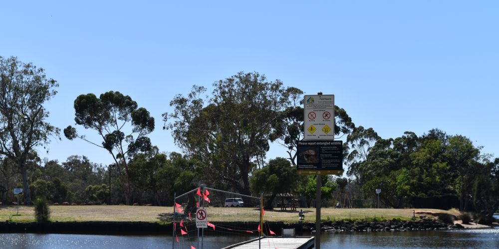 One of the jetties at Point Reserve in Bassendean. Picture: Kristie Lim
