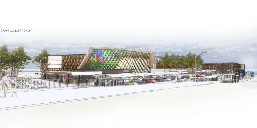 An artist's impression of the redeveloped Kardinya Park Shopping Centre.