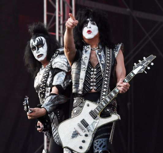 Gene Simmons (left) and Paul Stanley. Photo: Getty