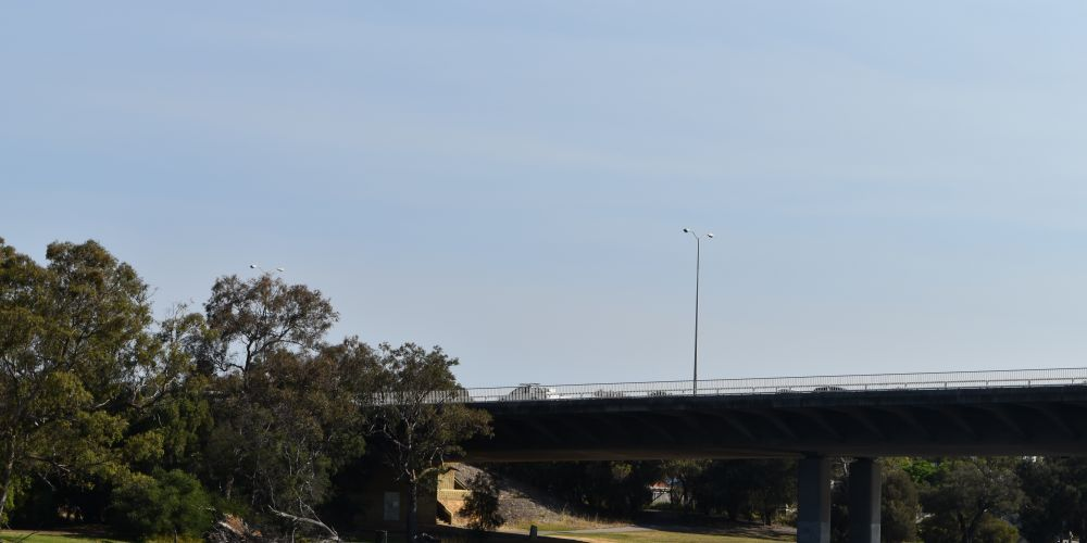 Redcliffe Bridge is located over the Swan River. Picture: Kristie Lim