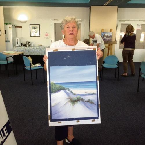 Art in the Springs showcases art club's work
