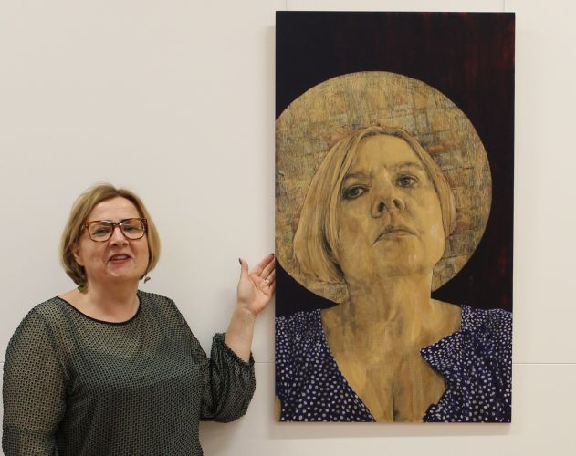 Artist Judy Rogers will display paintings in the Home exhibition. Picture: City of Wanneroo
