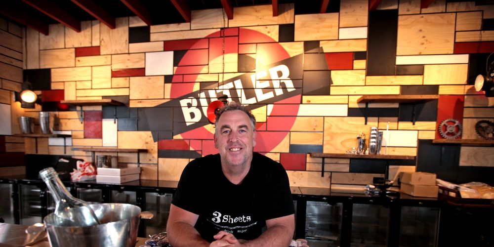 3Sheets on the Track co-owner Toby Evans is opening a third restaurant opposite Butler Station.Picture: David Baylis www.communitypix.com.au d496896
