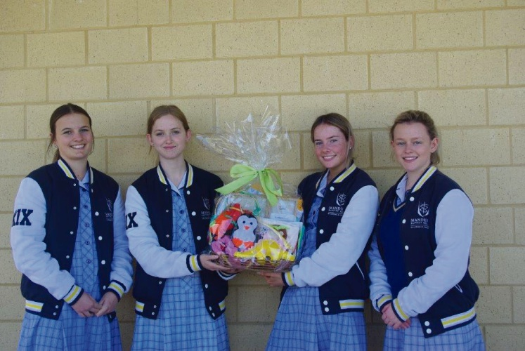 Students deliver care packages for new mums