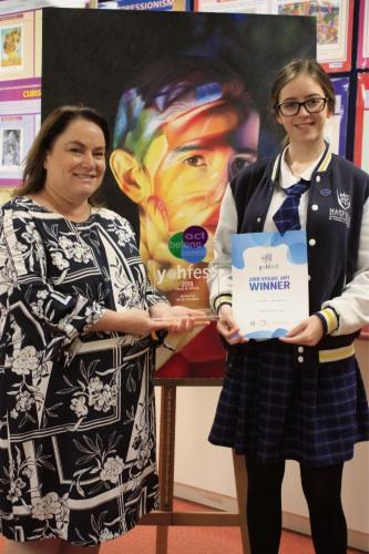 Student wins Yohfest Visual Art Prize