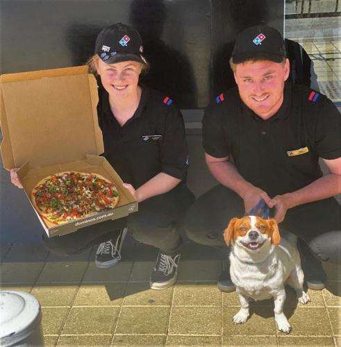 Domino's holds doughraiser for dogs