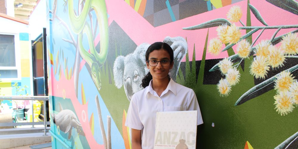 Melville Senior High School Year 10 student Aaliyah Ebrahim.