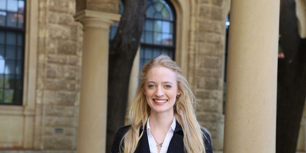UWA environmental science graduate Natasha Lutz.
