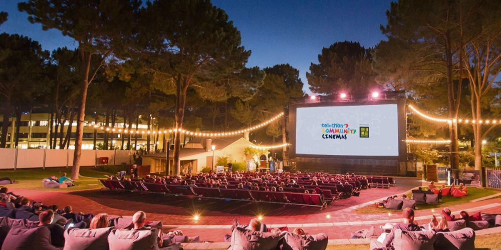 Telethon 7 Community Cinemas has moved into the ECU Joondalup Pines outdoor theatre.