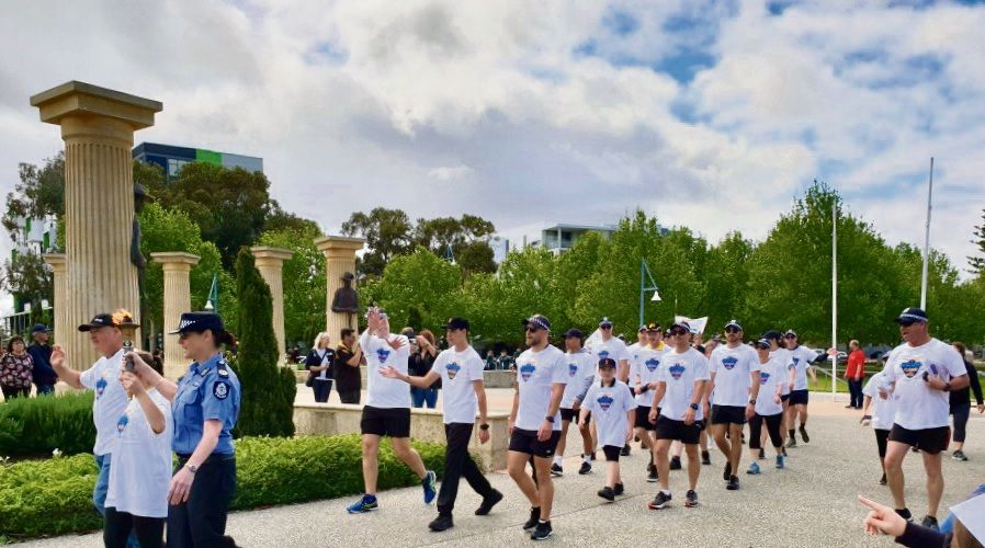 The Law Enforcement Torch Run will take to the streets of Joondalup on December 3.