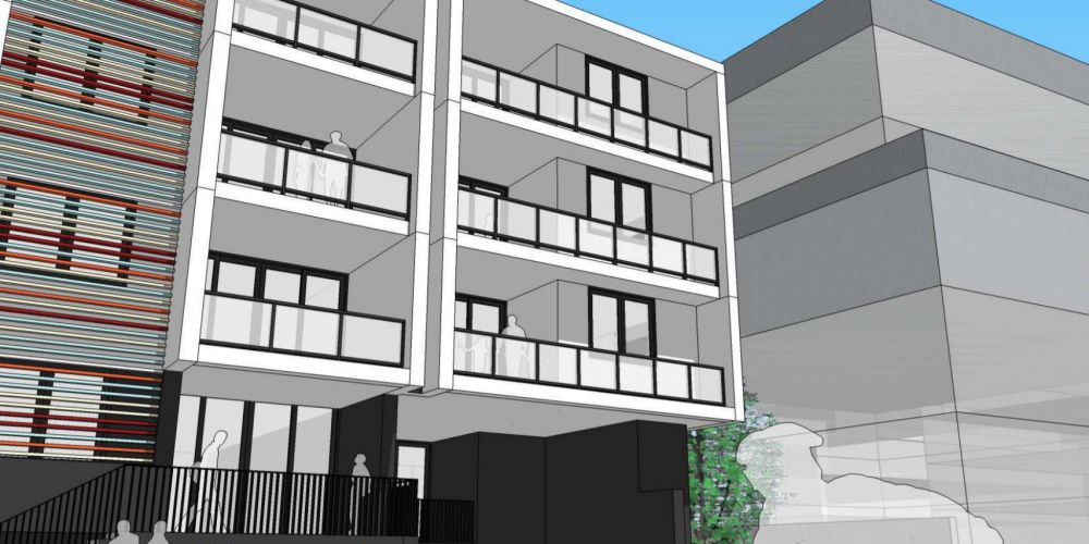 Artist impression of approved apartments in Innaloo. Image: Pennock Architects