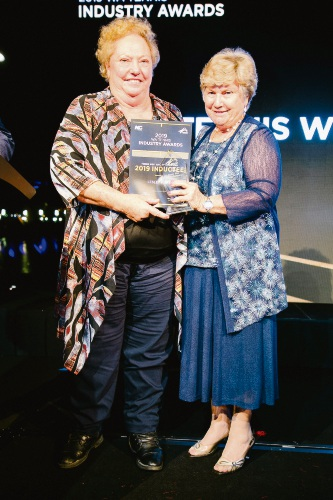 Mandurah tennis ace inducted to Hall of Championships
