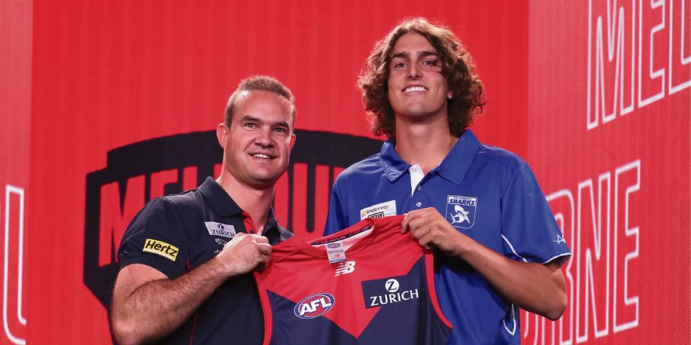 Young Sharks in demand at AFL Draft