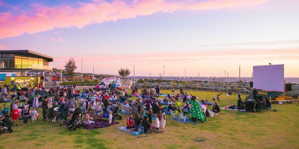Seaside Cinemas in Jindalee. Picture: Dale Watson