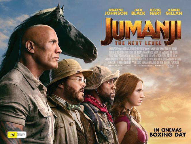 Win a double pass to Jumanji: The Next Level