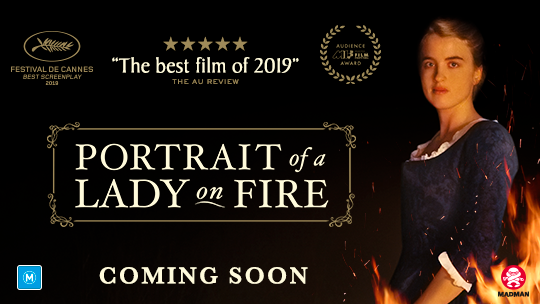 Win a double pass to Portrait of a Lady on Fire