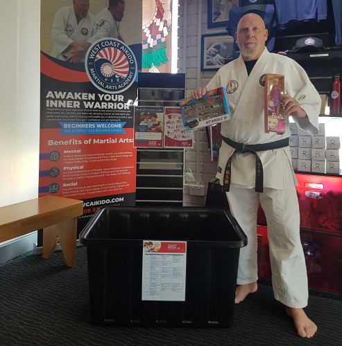 West Coast Aikido Martial Arts Academy owner Ross Taylor.