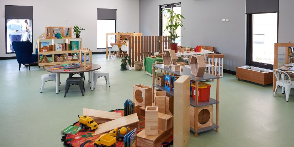 One of the purpose-built early learning spaces at Little People Banksia Grove. Pictures supplied