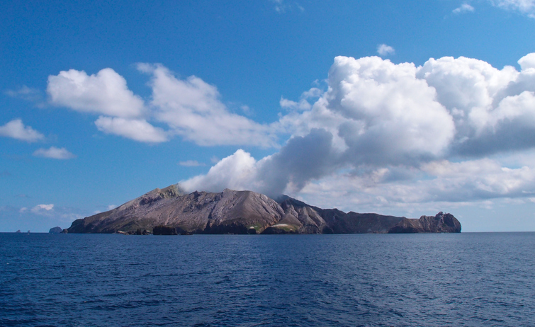 White Island. Photo: Getty