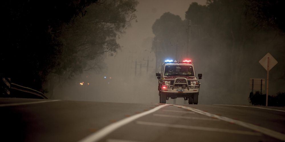 Emergency warnings are in place for the Yanchep bushfire. Picture: Josh Tucker