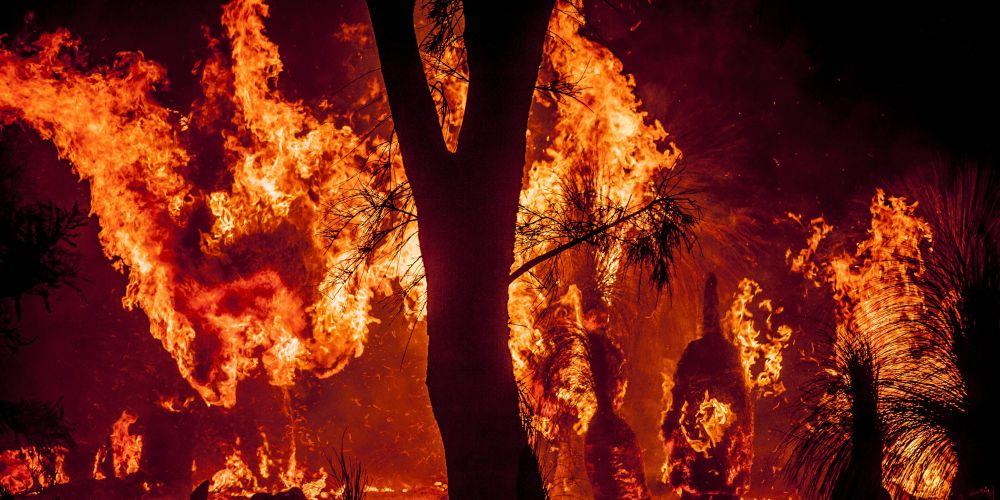 Yanchep bushfire emergency. Picture: Josh Tucker