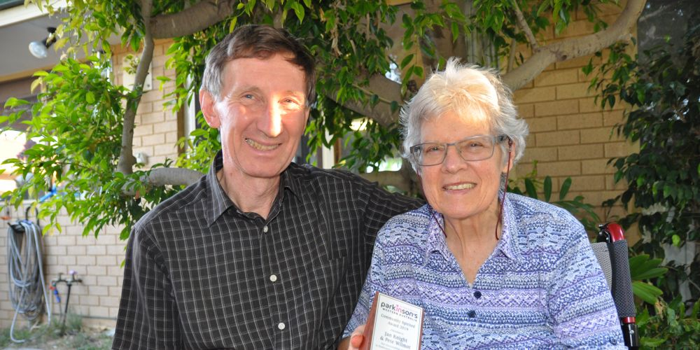 Residents Jan Knight and Peter Wilmot have won an award for their tireless voluntary work.