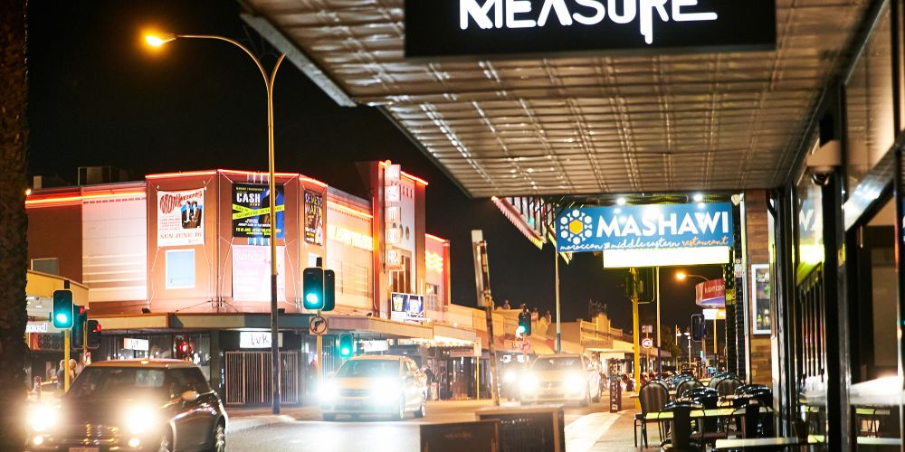 Businesses along Beaufort Street. Photo: Supplied/City of Stirling