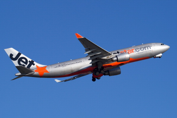 Jetstar file image. Picture: Getty