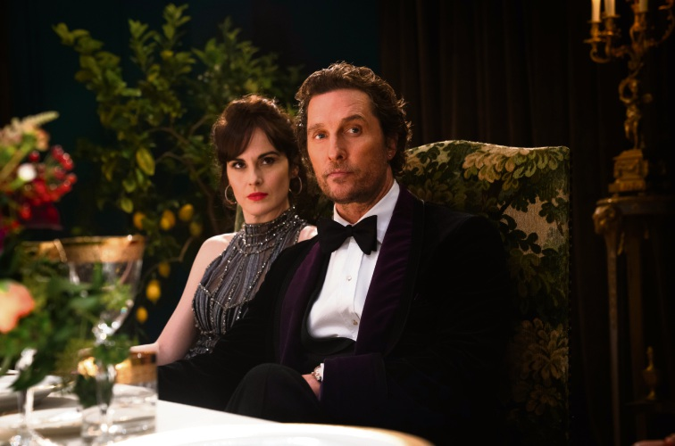 Matthew McConaughey and Michelle Dockery.