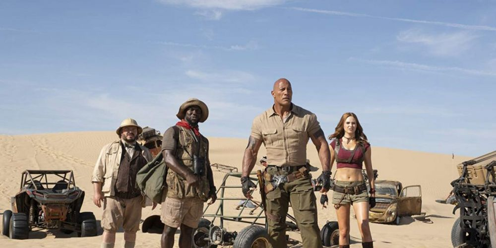 Jumanji: The Next Level film review – welcome to the desert