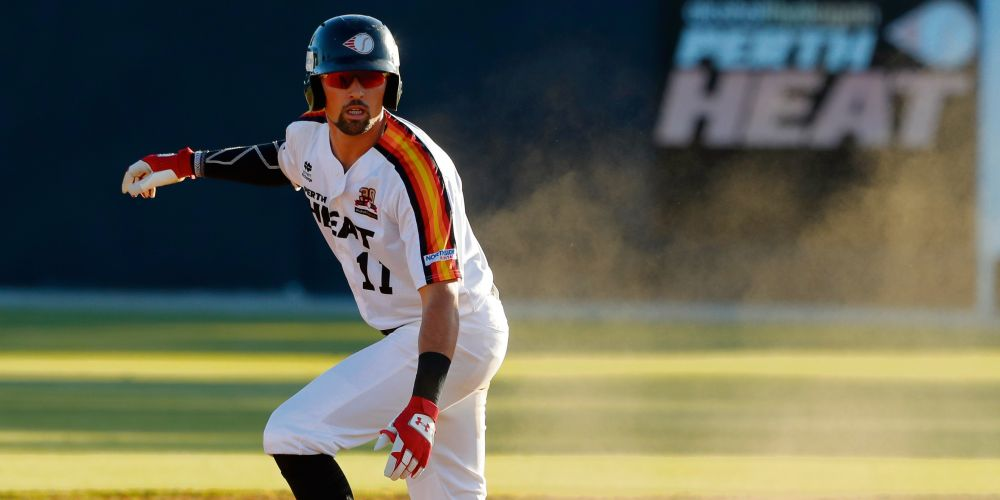 Perth Heat import Jordan Qsar is loving his start to life in Australia. Photo: Photo credit: SMP Images.